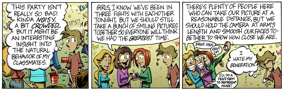 Party-going part 5: Talkin' 'bout my generation