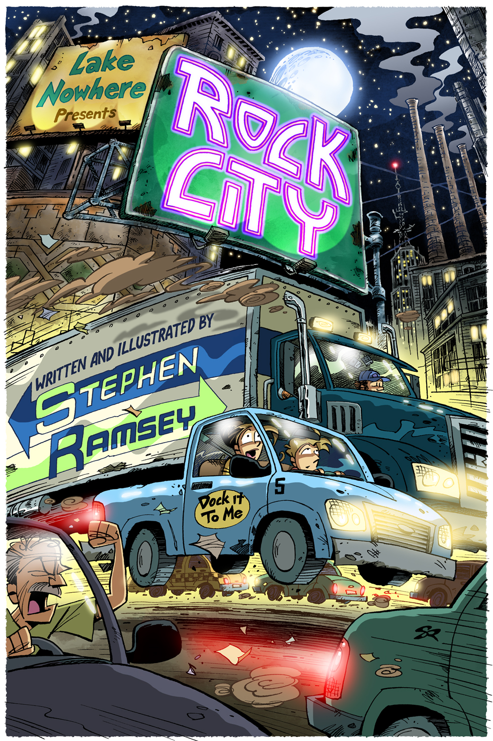 Rock City Part 13: Finally getting around to a title page